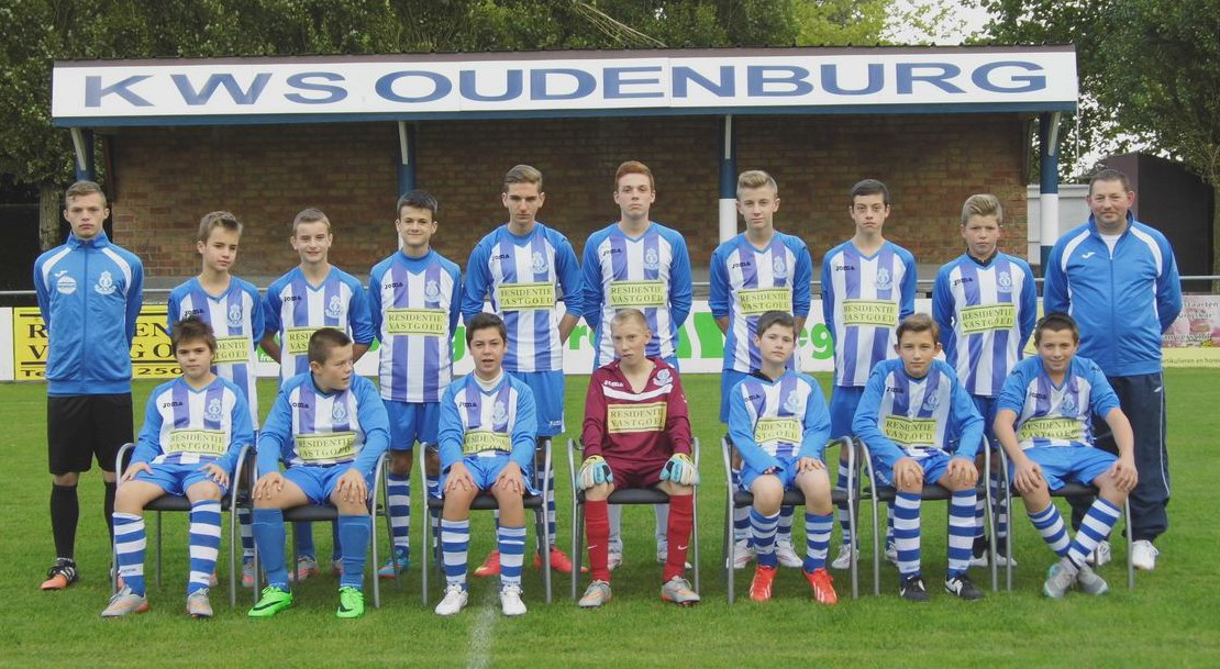 U15-ploegfoto