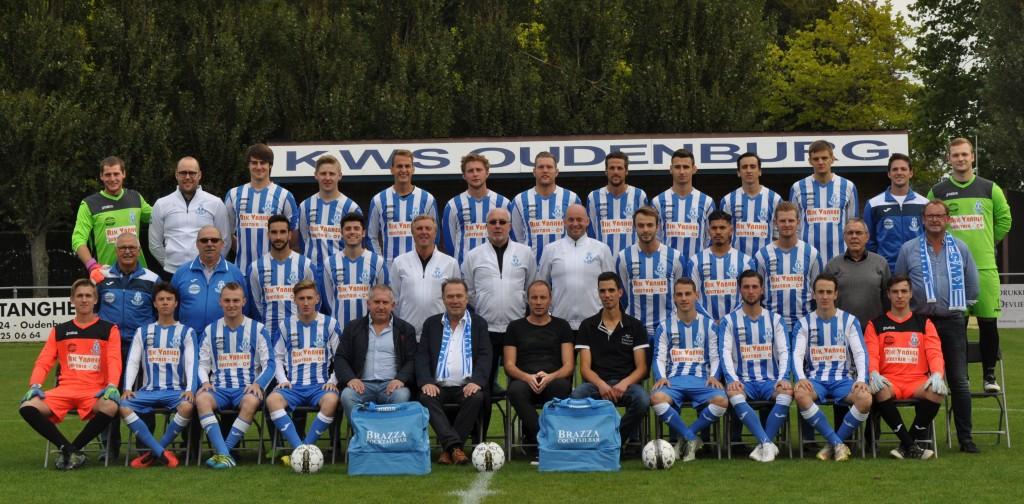 eerste elftal 2017-2018